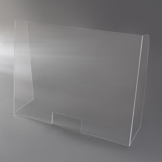 szyba/osłona na ladę biurko z Plexi