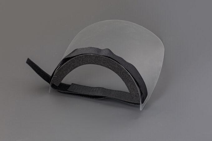 przyłbica maseczka ochronna z plexi