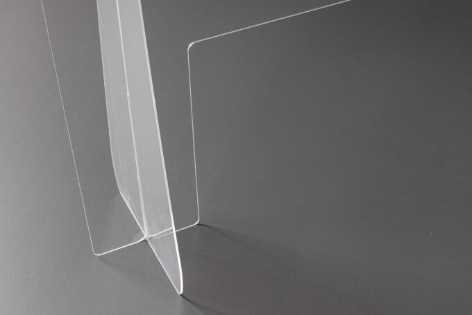 osłona ochronna z plexi na ladę biurko